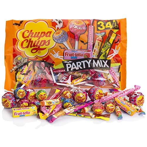 Chupa Chups Halloween Party Mix Bolsa 400g - Bolsa para Compartir especial Fiestas