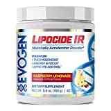 Lipocide Instant Release | Fat Loss, Thermogenic, Choline, Dynamine, Tyrosine, Cocoa Extract | Raspberry Lemonade
