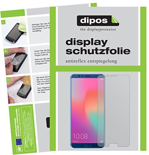 Preisvergleich Produktbild dipos I 2X Schutzfolie matt kompatibel mit Huawei Honor View 10 Folie Displayschutzfolie