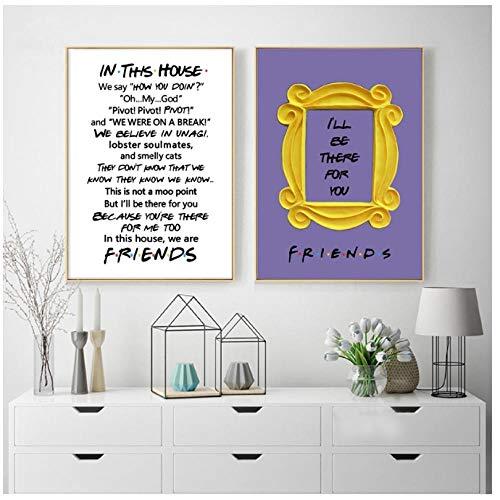 póster friends fabricante VFEB