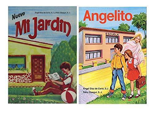 Nuevo Mi Jardin Y Angelito (Pack 2 libros) Método Moderno y Practico De Iniciación a La Lectura