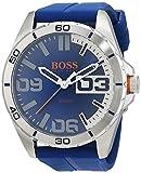 Hugo Boss Orange Homme Analogique Quartz Montres bracelet avec bracelet en Silicone - 1513286