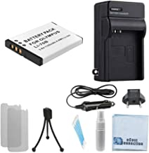 LI-70B Rechargeable Battery for Olympus DSLR Cameras & Battery Charger + eCostConnection Complete Starter Kit