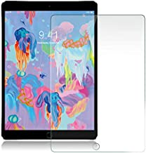 iPad 9.7 Screen Protector for Apple iPad 9.7'' (2018/2017)/iPad Pro 9.7/iPad Air 2/iPad Air,Tempered Glass iPad Screen Protector with [Apple Pencil Compatible][Anti Scratch][Bubble Free]