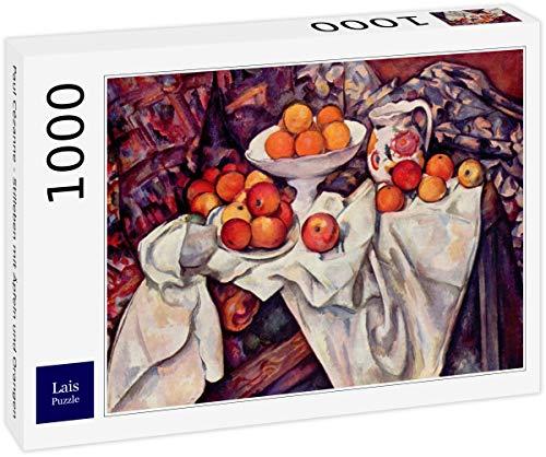 Lais Puzzle Paul Cézanne - Natura Morta con Mele e Arance 1000 Pezzi