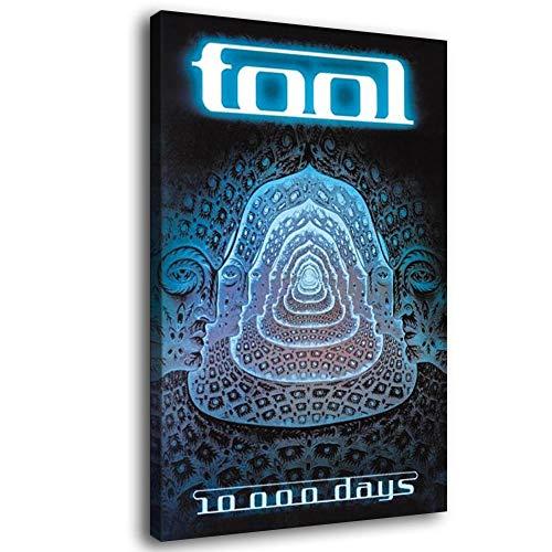 Tool 10000 Days Canvas Art Poster e Wall Art Stampa Moderna Famiglia Camera da Letto Decor Poster