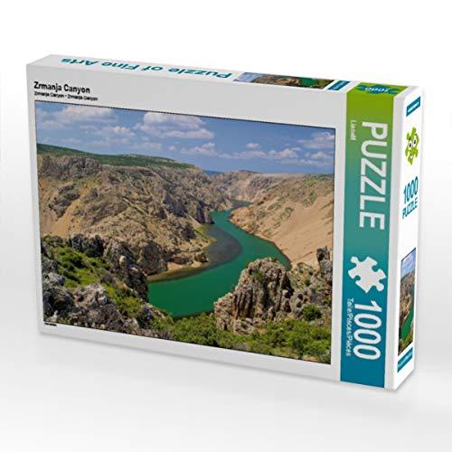CALVENDO Puzzle Zrmanja Canyon 1000 Teile Lege-Größe 64 x 48 cm Foto-Puzzle Bild von Thomas Polske