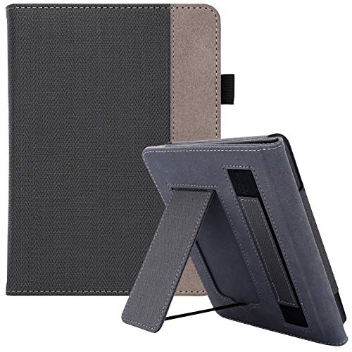 WALNEW AMAZON Kindle Paperwhite 10th Generation Cover Case Fits 2018 Kindle Paperwhite New Model (10th Generation Model NO. PQ94WIF) Stand Function with Belt Magnetic Cover