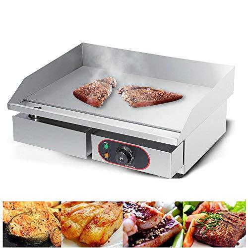 Teppanyaki Poêle électrique en acier inoxydable pour barbecue 220 – 240 V