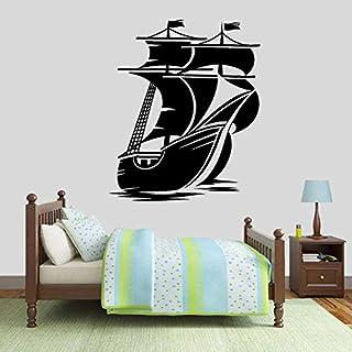 Decalcomania//Da Parete Barca A Vela Vinile Adesivi Parete Arte//Da Muro Arte//
