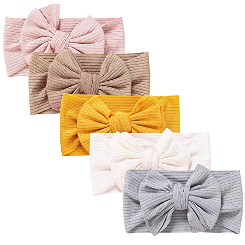 DRESHOW Baby Mädchen Nylon Stirnbänder Neugeborene Kleinkinder Haarbänder und Bögen Kinder Haarschmuck