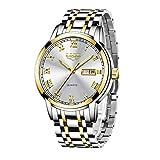 Relojes Hombres LIGE Moda Simple Impermeable Cuarzo Analógico Reloj Acero Inoxidable Automatico Calendario Reloj Hombre de Pulsera