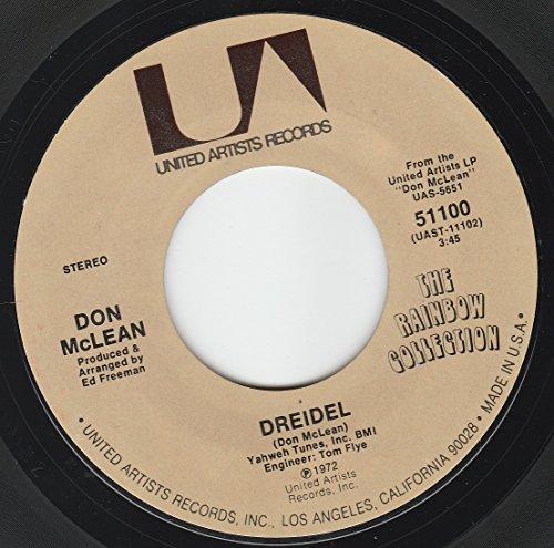 45vinylrecord Dreidel/Bronco Bill's Lament (7'/45 rpm)