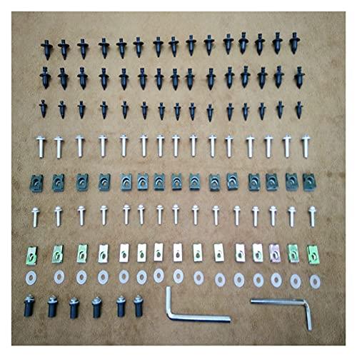 Wjyfexble Motocicletas de carenaje Pernos corporales Clips de Sujetadores Tornillos Nuts Kit para Honda ST1100 1990-2002