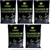 UTKARSH Huminoz-98, 900 Gm (Humic Acid 98% for Plant) - Set of 5 liquid fertilizers May, 2021