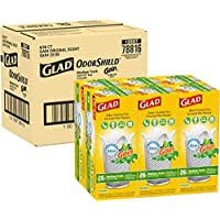 6-Pack Glad Medium Quick-Tie Trash Bags with Febreze Freshness