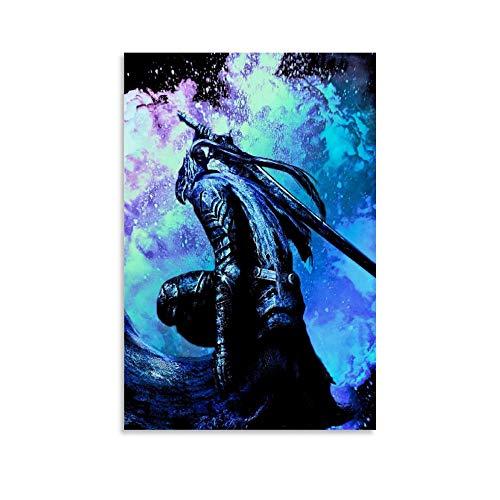 Darksoul The Astorias Poster, dekoratives Gemälde, Leinwand, Wandkunst, Wohnzimmer, Poster, Schlafzimmer, Malerei, 20 x 30 cm