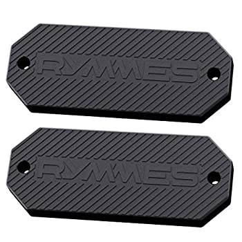 RYMMES Gun Magnet Mount Holster  45 lbs Rated  - HQ Soft Rubber Coated - Perfect Magnetic Holder for Concealed Your Weapon on Car Truck Wall Vehicle & More - Powerful & Durable  2 Pack