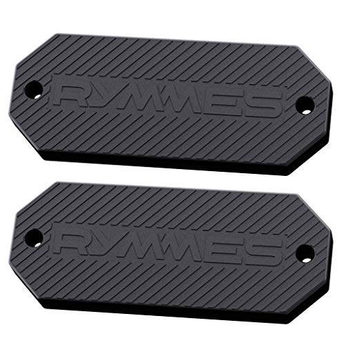 RYMMES Gun Magnet Mount Holster (45 lbs Rated) - HQ Soft Rubber Coated - Perfect Magnetic Holder for Concealed Your Weapon on Car, Truck, Wall, Vehicle & More - Powerful & Durable (2 Pack)
