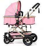 &Carrito de bebé Carro de bebé carro de mano cochecito clásico, (Color : 11#)