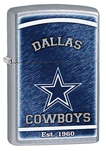 Zippo Personalized Dallas Cowboys Lighter - Free Engraving