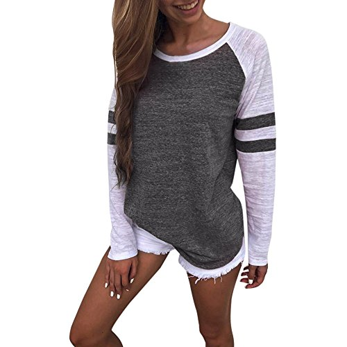 Price comparison product image Womens T-Shirt Sale, KIKOY Girls Blouse Fashion Thankful Blessed Baseball Tops