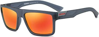 Mens Sport Polarized Sunglasses Outdoor Riding Square...