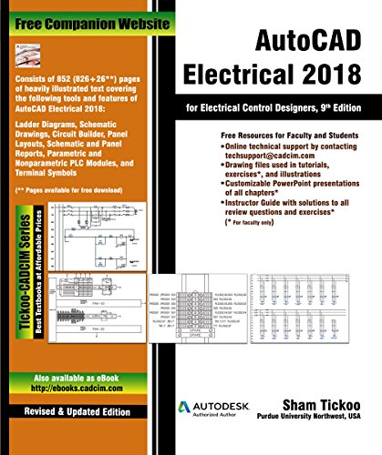 AutoCAD Electrical 2018 for Electrical Control Designers, 9th Edition (English Edition)