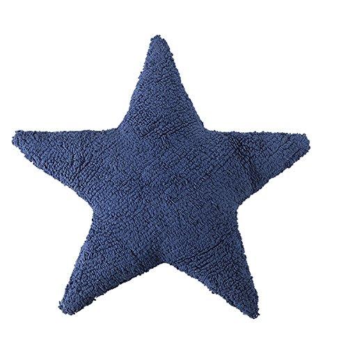 Cojín Estrella Azul Marino