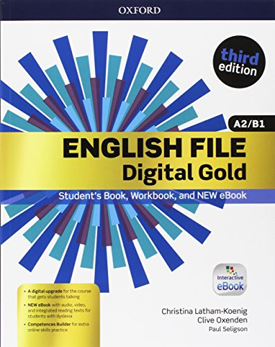 English file gold.A2-B1.Premium.Student's book wb with ebk with oosp [Lingua inglese]