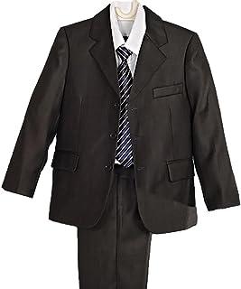 Lito Angels Boys ' 5個セットフォーマルタキシードスーツ服装ウェディングディナーパーティー