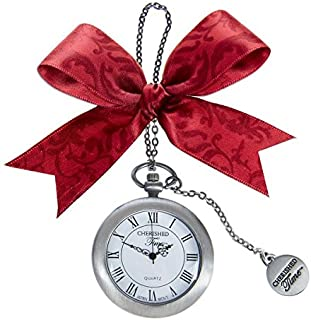 Ganz Christmas Holiday Cherished Time Clock Pocket Watch Ornament CT (CT01)