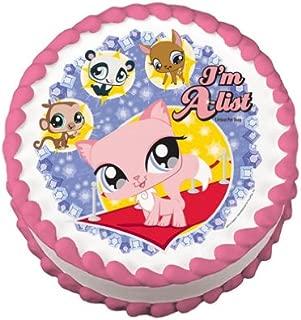 Littlest Pet Shop A-list Edible Cake Topper Image Decoration