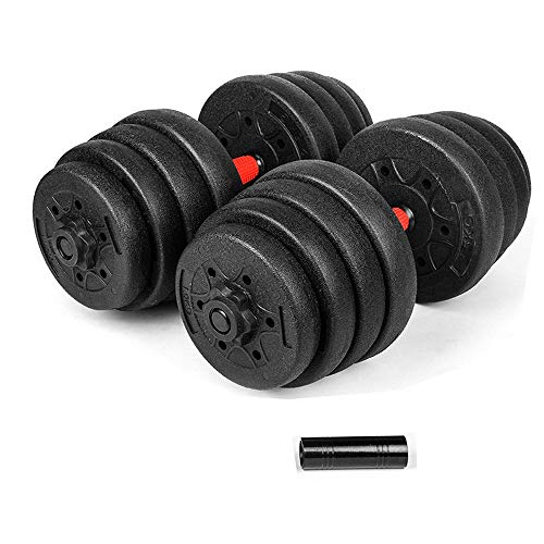 Best Deals! UNKB Environmental Protection Dumbbells Can Be Freely Combined and Disassembled. A Pair ...