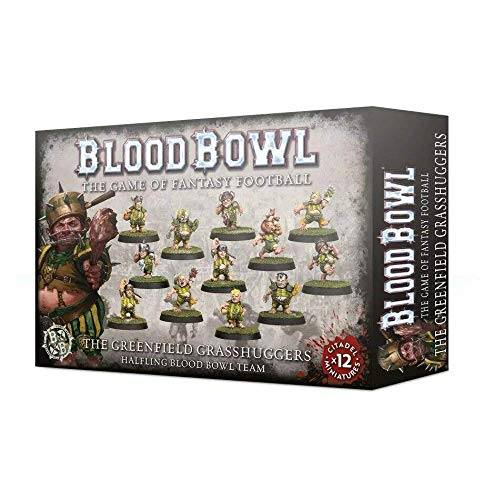 Unbekannt Games Workshop Blood Bowl Halfling Grasshuggers Team Warhammer