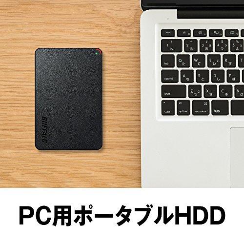 BUFFALOミニステーションUSB3.1(Gen1)/USB3.0用ポータブルHDD2TBHD-PCFS2.0U3-BBA