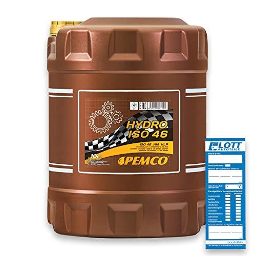 1 x 10L PEMCO Hydro ISO VG 46 / Hydrauliköl DIN 51524 HLP
