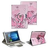 NAUC Schutz Hülle für 10-10.1 Zoll Tablet Tasche Schutzhülle Case Cover Bag, Motiv:Motiv 1, Tablet Modell für:Medion Lifetab X10300