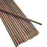 ZSHJG 12 Piezas de Ejes de Flecha de Bambú Tiro...