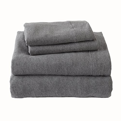 Jersey Knit Sheets. All Season, Soft, Cozy Queen...