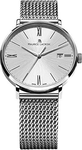 Maurice Lacroix Eliros EL1118-SS002-110-1 Herrenarmbanduhr flach & leicht