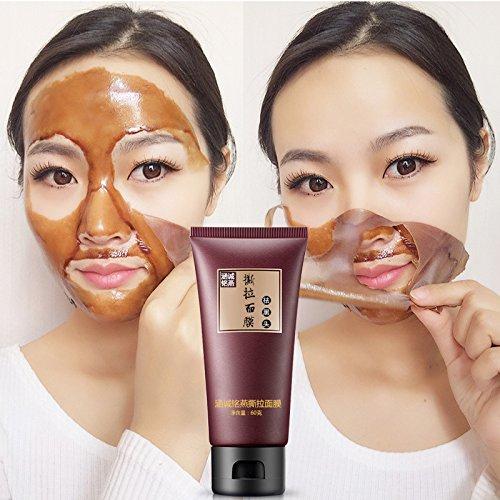 RONSHIN Limpieza profunda M¨¢scara facial negra Tratamiento purificante Removedor de espinillas Crema humectante