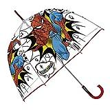 Paraguas Burbuja Transparente Spider-Man (Los Colores se sirven de Forma aleatoria)