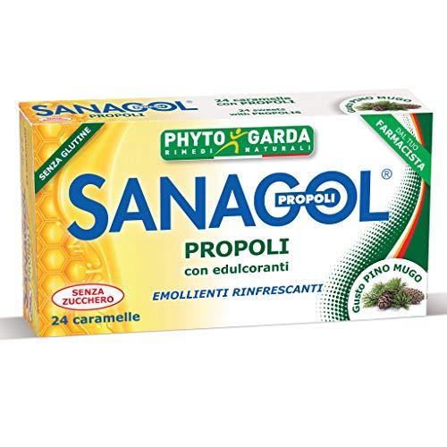 Sanagol Propoli Erbe Balsamiche Integratore 24 Caramelle