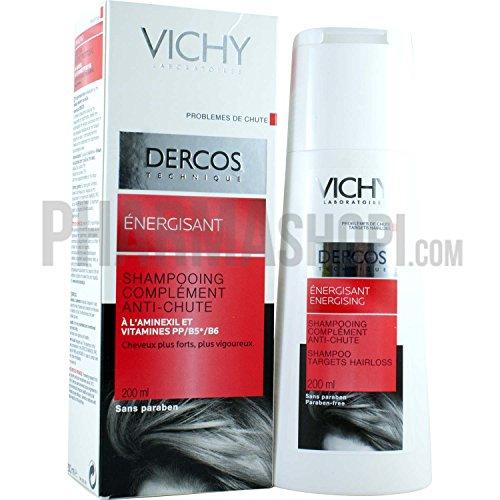 VICHY Dercos Vital bei Haarausfall Shampoo, 200 ml Shampoo