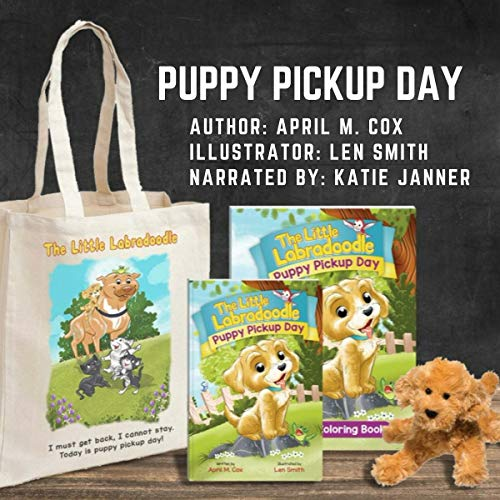 Puppy Pickup Day (The Little Labradoodle) audiobook cover art