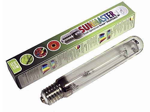SunMaster 400 Watt / Dual Spectrum Grow Lamp, Photonisches Leuchtmittel, Wachstum HID-Lampe / Glühbirne, Vegetative Blüte, GBK