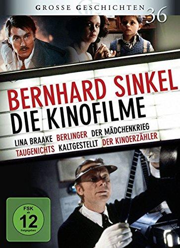 Bernhard Sinkel - Die Kinofilme: Lina Braake, Berlinger, Der Mädchenkrieg, Taugenichts, Kaltgestellt, Der Kinoerzähler GG 36 [6