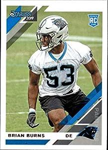 2019 Donruss Football #256 Brian Burns Carolina Panthers Rookie Card RC