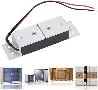 Electromagnetic Lock, DC12V 60KG Mini Electric Magnetic Door Cabinet Drawers Lock Magnetical Remote Control Kit